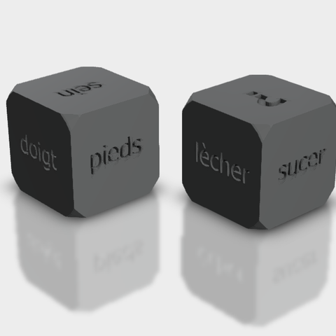 Download STL file Sexy dice game • Model to 3D print, cokinou