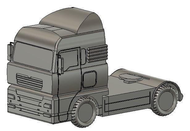 camion.JPG Download free STL file lorry • 3D printable design, david39