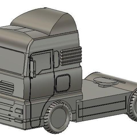 Free 3D model lorry, david39