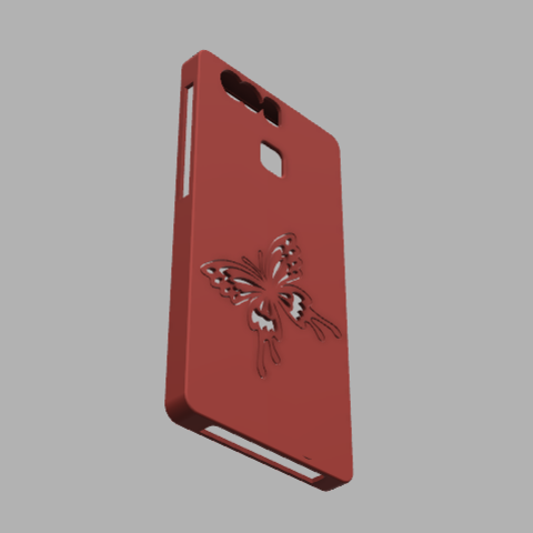 coque huawei p9 v42.png Download STL file Hull for Huawei P9 • 3D printer object, david39