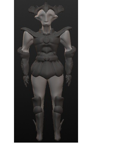 chevalier 1.jpg Download OBJ file 10 Intergalactic Humanoids • 3D print object, Majin59
