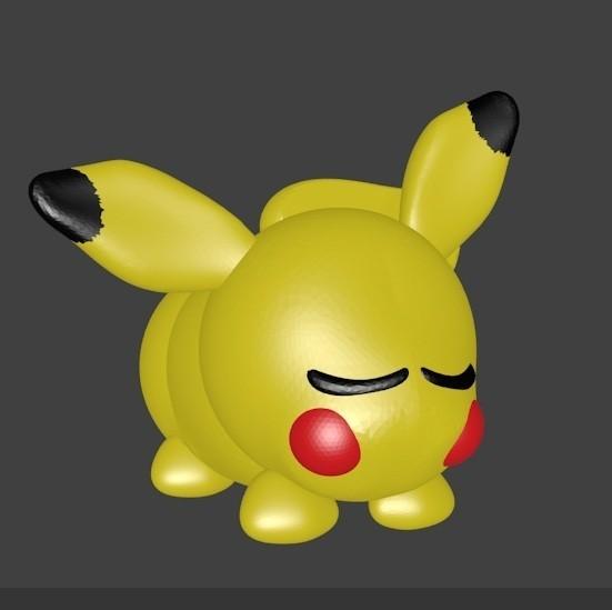 pikachu photo color.jpg Download STL file Pickachu • 3D printable design, Majin59