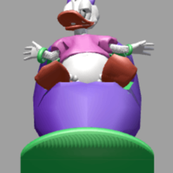 daisy face.png Download STL file Daisy vehicle • Template to 3D print, Majin59