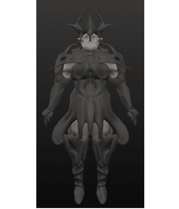 le roi.png Download OBJ file 10 Intergalactic Humanoids • 3D print object, Majin59
