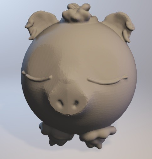 cochonnelle.jpg Download free OBJ file Cochonnelle (pig girl series minitoys) • 3D printing template, Majin59