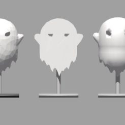 3 loliposps mcafee.png Download STL file 3 lolipops ghost mc afee • Object to 3D print, Majin59