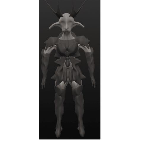 garde 1.png Download OBJ file 10 Intergalactic Humanoids • 3D print object, Majin59