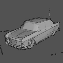 Download STL files Peugeot 404, Majin59