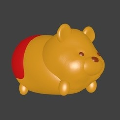 Download 3D printer model Winnie the Pooh the Pooh, Majin59