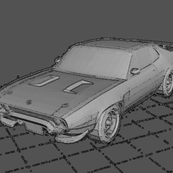 Download 3D printing models Plymouth roadRunner, Majin59