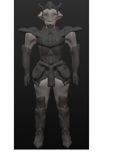 chevalier 2.jpg Download OBJ file 10 Intergalactic Humanoids • 3D print object, Majin59