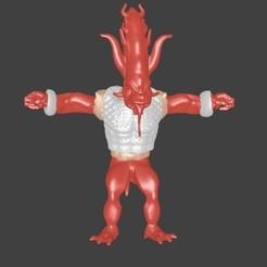 Modèle 3D Daemon, Majin59