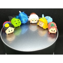 Download 3D printer templates Tsum Tsum my way: Pinocchio (6 figures), Majin59