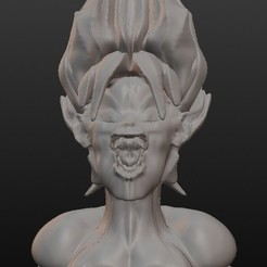 Download 3D printing models Super Sayen (Sangoku), Majin59