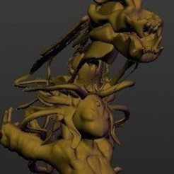 Download STL file Medusa Priestess, Majin59