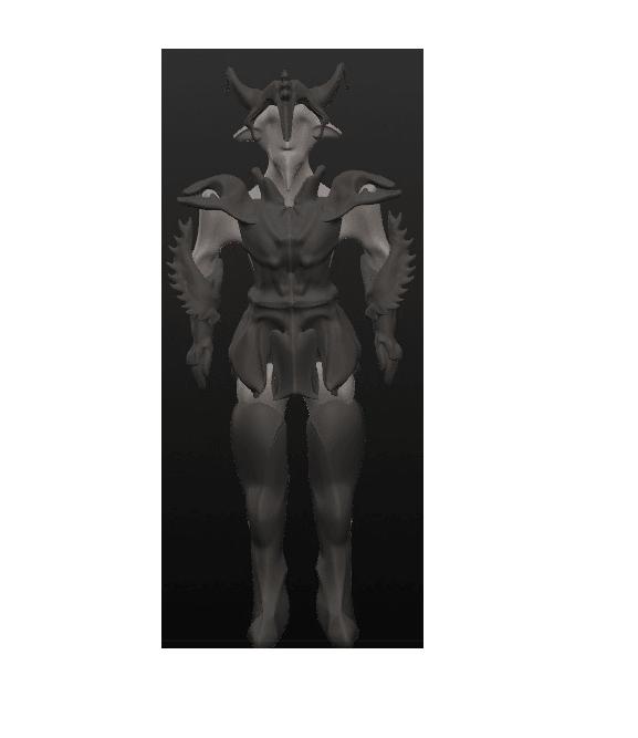 garde 2.png Download OBJ file 10 Intergalactic Humanoids • 3D print object, Majin59