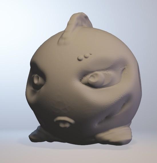bellafish.jpg Télécharger fichier OBJ gratuit Bellafich (poisson fille série minitoys) • Objet pour imprimante 3D, Majin59