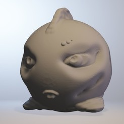 Download free 3D printing files Bellafich (fish girl series minitoys), Majin59