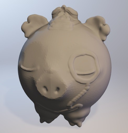 cochonou.jpg Télécharger fichier OBJ gratuit Cochonou (cochon garçon série minitoys) • Design pour imprimante 3D, Majin59