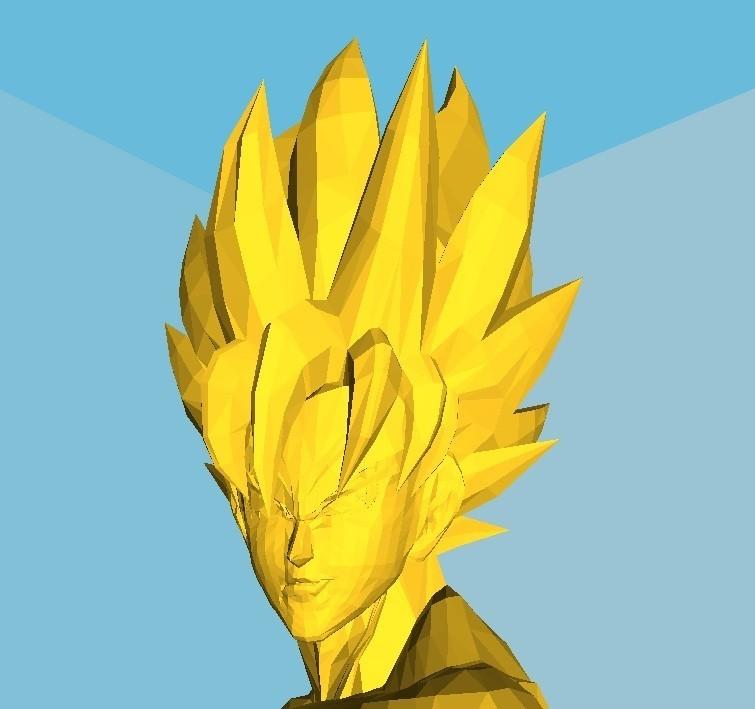son goku.jpg Download STL file SanGoku (known bust series) • 3D printing design, Majin59