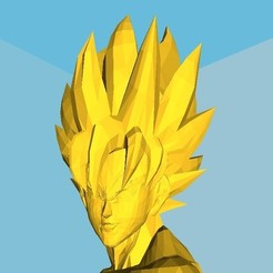 3D printer models SanGoku (known bust series), Majin59
