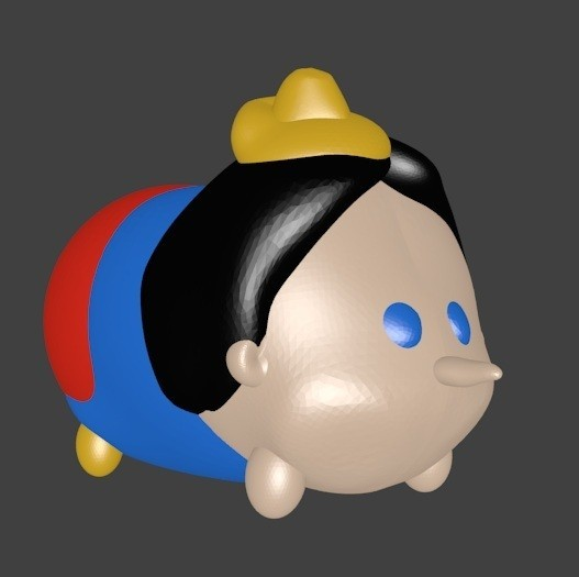 pinocchio photo color.jpg Download STL file Pinocchio • Model to 3D print, Majin59