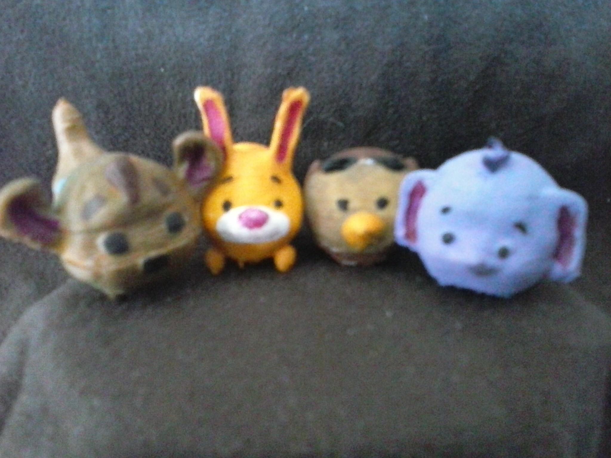 petit gourou coco lapin matre hibou lumpy.jpg Download STL file Winnie the Pooh the Pooh • 3D print model, Majin59