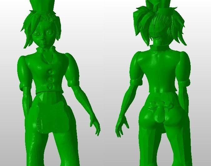 APPRENTIE CUISINE.jpg Download STL file kitchen apprentice figurine • 3D print template, Majin59