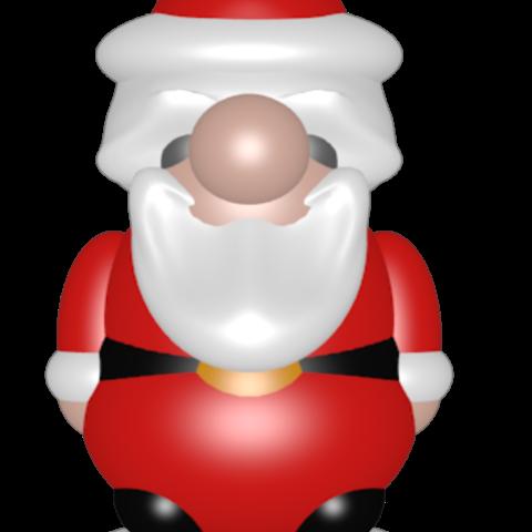 STL files Santon Little Santa Claus, Majin59