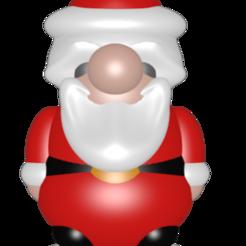 figurine papa noel.png Télécharger fichier STL Santon Petit Papa Noël • Modèle imprimable en 3D, Majin59
