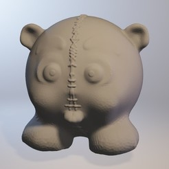 Download free OBJ file teddycults (baby bear series minitoys) • Design to 3D print, Majin59