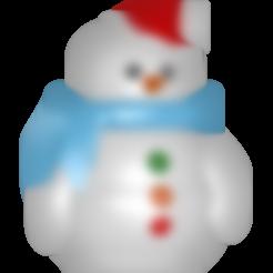 STL Bonhomme de neige, Majin59