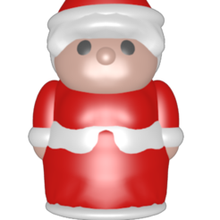 3D printer models Santa Claus, Majin59