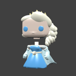 elsa pop.png Download STL file ELSA JASMINE JESSIE JOY LILO • 3D printing object, Majin59
