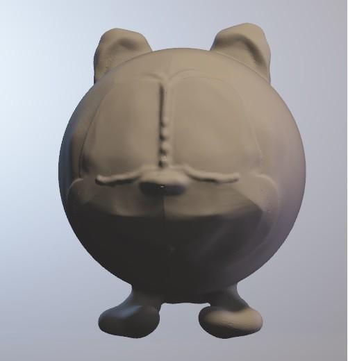 toc.jpg Download free OBJ file toc (squirrel boy series minitoys) • 3D print object, Majin59
