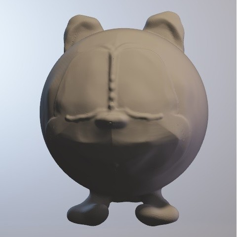 Free 3d printer designs toc (squirrel boy series minitoys), Majin59