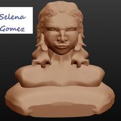 Archivos 3D Selena Gómez, cantante, Majin59