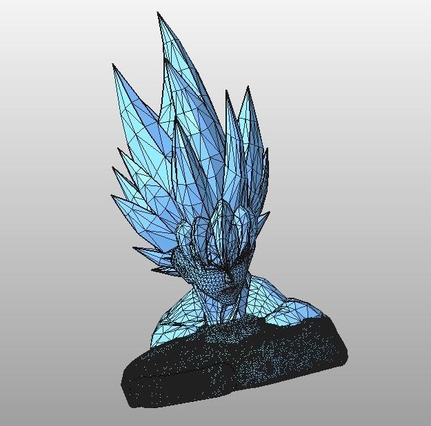 buste sangoku.jpg Download STL file SanGoku (known bust series) • 3D printing design, Majin59