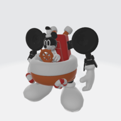Download 3D model Mickey the bulky robot, Majin59