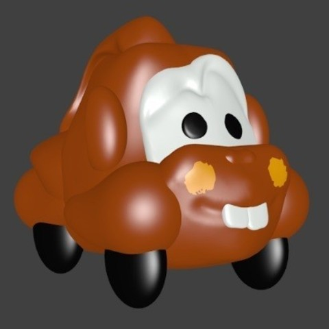 3D printer models Martin the tow truck, Majin59