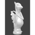 fou lianaja blanc.jpg Download STL file Pokemon, Lianaja, chess, crazy • 3D printing template, Majin59