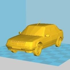 3D print model Peugeot 309, Majin59