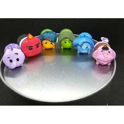 Download 3D printer designs Tsum Tsum my way: Inside Out (6 figures), Majin59