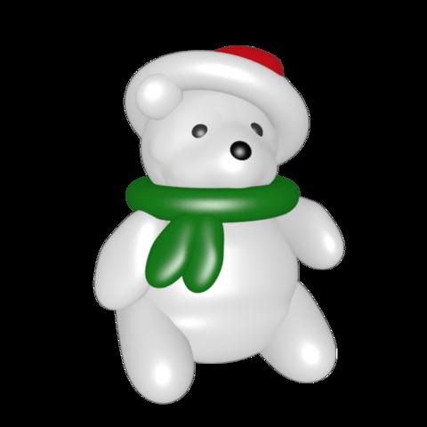 STL files Polar bear, Majin59