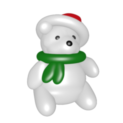 Download 3D model Polar bear, Majin59