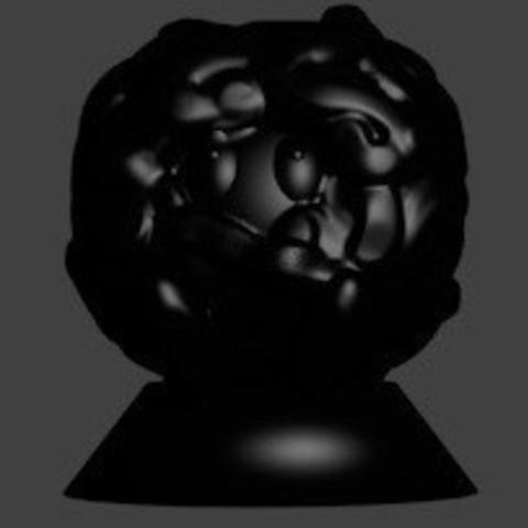 pion saquedeneu noir.jpg Download STL file its nine • Template to 3D print, Majin59