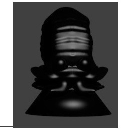 pion amonita noir.jpg Download STL file amonita • 3D print design, Majin59