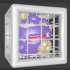 SMOGO.png Download STL file SMOGO POKEMON 109 (Koffing) • 3D print design, Majin59