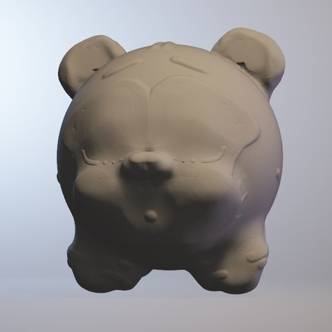 tigreatops.jpg Download free OBJ file tigreatops (tiger boy series minitoys) • 3D printer template, Majin59