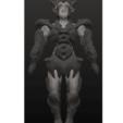 3D printing model 10 Intergalactic Humanoids, Majin59